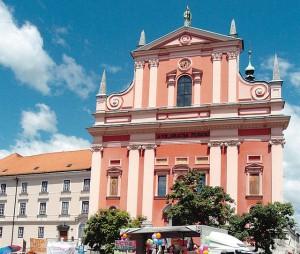 Franciscan church Ljubljana